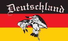 Flagge Fahne Deutschland Fan 6 90 x 150 cm