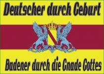 Flagge Fahne Badener Gnade Gottes 90 x 150 cm