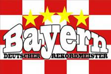 Flagge Fahne Bayern Rekordmeister 90 x 150 cm