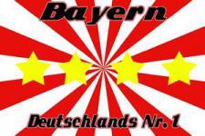 Flagge Fahne Bayern Nr. 1 90 x 150 cm