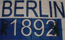 Flagge Fahne Berlin 1892 90 x 150 cm