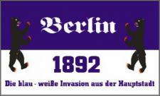 Flagge Fahne Berlin Invasion 90 x 150 cm