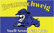 Flagge Fahne Braunschweig You'll never 90 x 150 cm