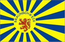 Flagge Fahne Braunschweig Fanflagge 90 x 150 cm