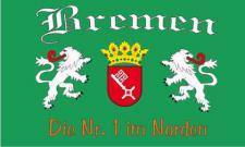 Flagge Fahne Bremen Nr. 1 90 x 150 cm