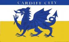 Flagge Fahne Cardiff City 90 x 150 cm
