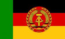 Flagge Fahne DDR Boote Elbe Oder Trup. 90 x 150 cm