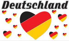 Flagge Fahne Deutschland Fan 13 90 x 150 cm