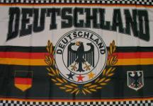 Flagge Fahne Deutschland Fanflagge 90 x 150 cm