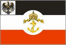 Flagge Fahne Dienst Staatsf. Preussen 90 x 150 cm