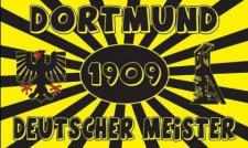 Flagge Fahne Dortmund d. Meister 90 x 150 cm