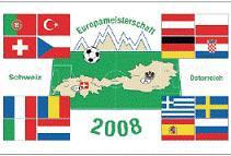 Flagge Fahne EM 2008 II 90 x 150 cm