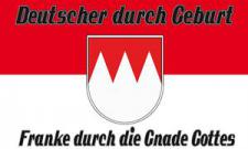 Flagge Fahne Franke Gnade Gottes 90 x 150 cm