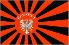 Flagge Fahne Frankfurt Fanflagge 90 x 150 cm
