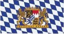 Flagge Fahne Bayern Freistaat 90 x 150 cm