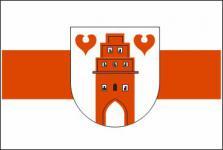 Flagge Fahne Friesoythe Wappen 90 x 150 cm