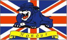Flagge Fahne Grossbritannien Bulldogge 90 x 150 cm