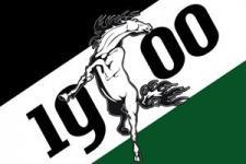 Flagge Fahne Gladbach 1900 90 x 150 cm