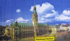 Flagge Fahne Hamburger Rathaus 90 x 150 cm