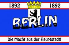Flagge Fahne Berlin Haupstadt Helden 90 x 150 cm