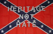 Flagge Fahne Heritage not Hate 90 x 150 cm