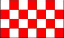 Flagge Fahne Karoflagge rot weiß 90 x 150 cm