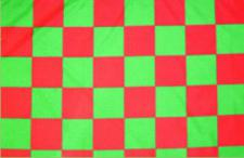 Flagge Fahne Karoflagge grün rot 90 x 150 cm