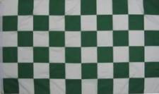 Flagge Fahne Karoflagge grün weiß 90 x 150 cm