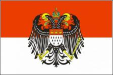 Flagge Fahne Köln großes Wappen 90 x 150 cm