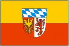 Flagge Fahne Landkreis Landsberg 90 x 150 cm