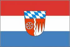 Flagge Fahne Landkreis Miltenberg 90 x 150 cm