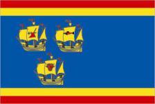 Flagge Fahne Landkreis Nordfriesland 90 x 150 cm