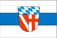 Flagge Fahne Landkreis Regensburg 90 x 150 cm