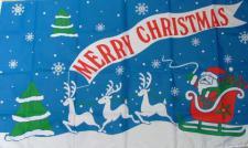 Flagge Fahne Merry Christmas I 90 x 150 cm