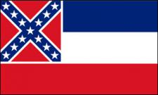Flagge Fahne Mississippi 90 x 150 cm