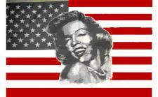 Flagge Fahne USA Marilyn Monroe 90 x 150 cm