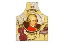 Schürze Mozart 56 x 73 cm