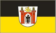 Flagge Fahne München großes Wappen 90 x 150 cm