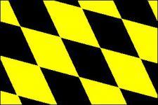 Flagge Fahne München Raute 90 x 150 cm