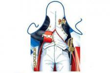 Schürze Napoleon 56 x 73 cm