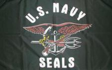 Flagge Fahne US Navy Seals 90 x 150 cm