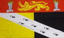 Flagge Fahne Grafschaft Norfolk 90 x 150 cm
