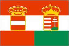 Flagge Fahne Österreich - Ungarn 90 x 150 cm