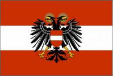Flagge Fahne Österreich Ad. 1934-1938 90 x 150 cm