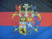 Flagge Fahne Ostfriesland Prachtwappen 90 x 150 cm