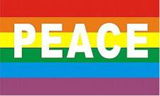 Flagge Fahne Peace 90 x 150 cm