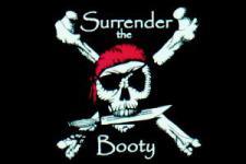 Flagge Fahne Pirat Surrender the Booty 90 x 150 cm