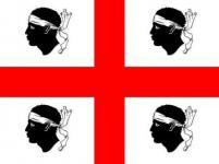 Flagge Fahne Sardinien 90 x 150 cm