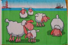 Flagge Fahne Schafe 90 x 150 cm