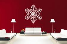 Wandtattoo Snowflake Motiv Nr. 5
